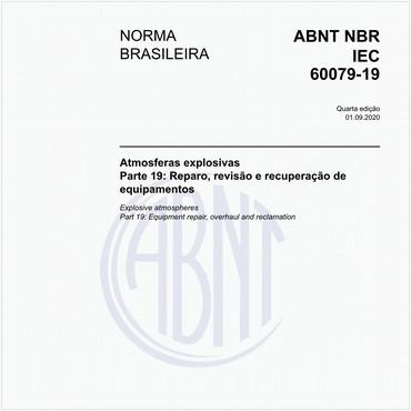 NBRIEC60079-19 de 08/2016