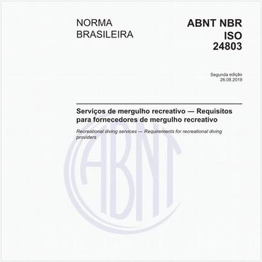 NBRISO24803 de 08/2019