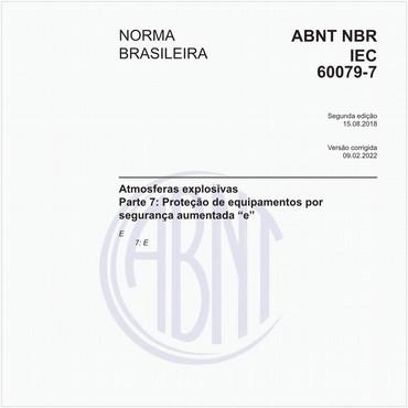 NBRIEC60079-7 de 08/2018