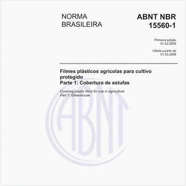 NBR15560-1 de 02/2008