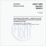 NBRISO/IEC20000-2