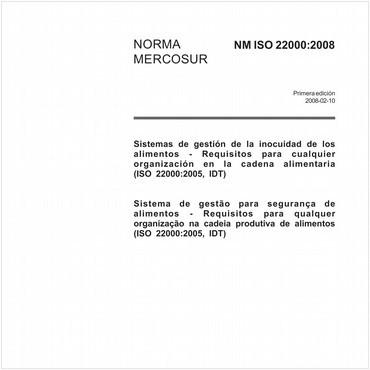 NM-ISO22000 de 02/2008