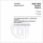 NBRISO/IEC15504-3