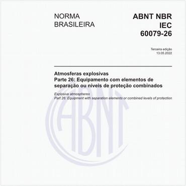 NBRIEC60079-26 de 08/2016