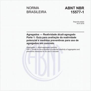NBR15577-1 de 07/2018