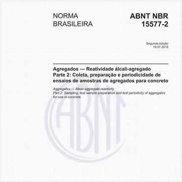 NBR15577-2 de 07/2018