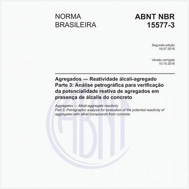 NBR15577-3 de 07/2018
