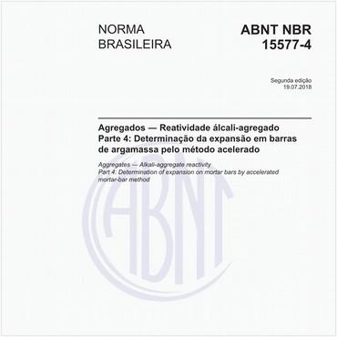 NBR15577-4 de 07/2018