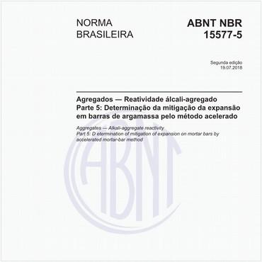 NBR15577-5 de 07/2018