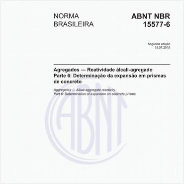 NBR15577-6 de 07/2018