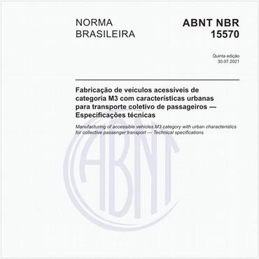 NBR15570 de 01/2011