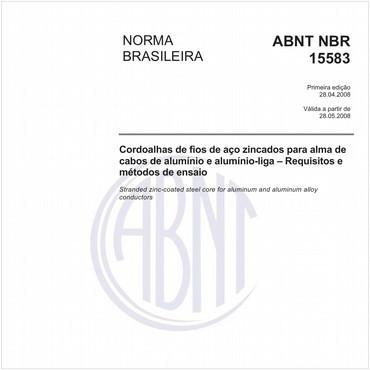 NBR15583 de 04/2008
