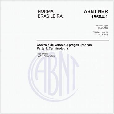 NBR15584-1 de 04/2008