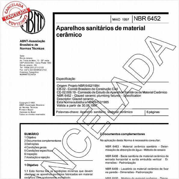 NBR6452 de 06/2004