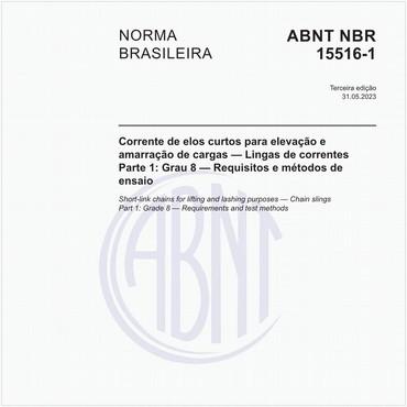 NBR15516-1 de 08/2013