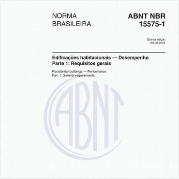 NBR15575-1 de 02/2013