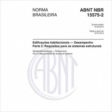 NBR15575-2 de 02/2013