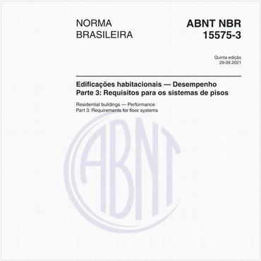 NBR15575-3 de 02/2013