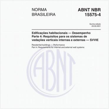 NBR15575-4 de 02/2013