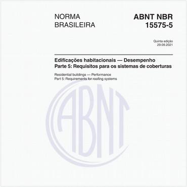 NBR15575-5 de 02/2013