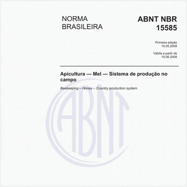 NBR15585 de 05/2008
