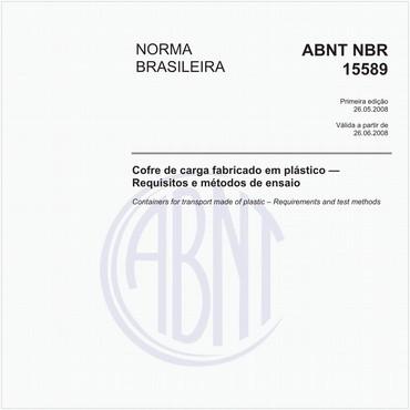 NBR15589 de 05/2008