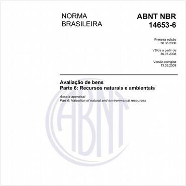 NBR14653-6 de 06/2008