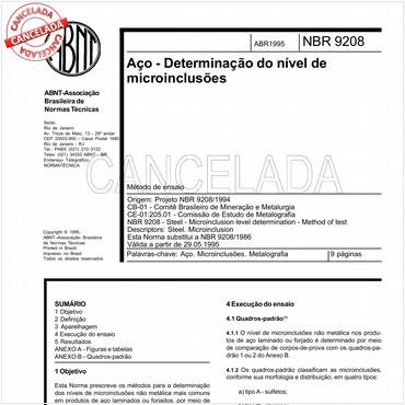 NBR9208 de 04/1995