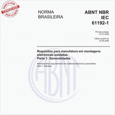 NBRIEC61192-1 de 07/2008