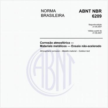 NBR6209 de 05/2007