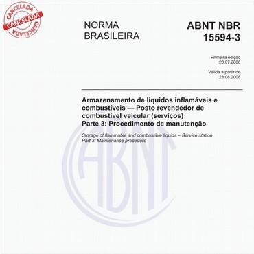 NBR15594-3 de 07/2008