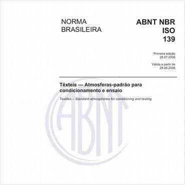 NBRISO139 de 07/2008