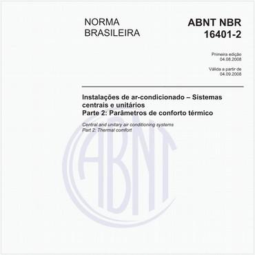NBR16401-2 de 08/2008