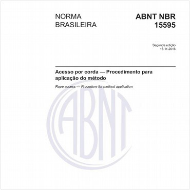 NBR15595 de 11/2016