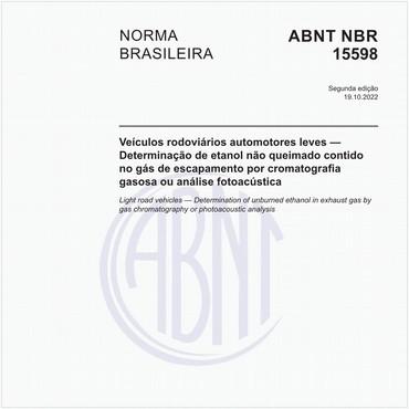 NBR15598 de 12/2016