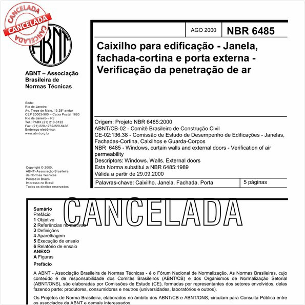 NBR6485 de 01/2011