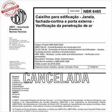 NBR6485 de 08/2000