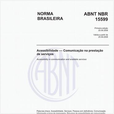 NBR15599 de 08/2008
