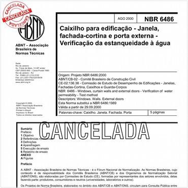 NBR6486 de 08/2000