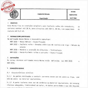 NBR5113 de 10/1988