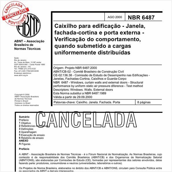 NBR6487 de 01/2011