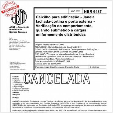 NBR6487 de 08/2000