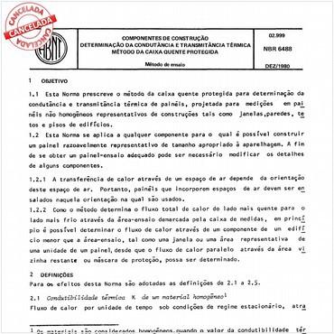 NBR6488 de 12/1980