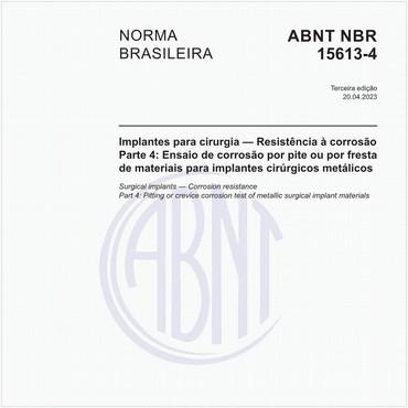 NBR15613-4 de 10/2016
