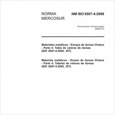 NM-ISO6507-4 de 07/2008