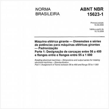NBR15623-1 de 09/2008