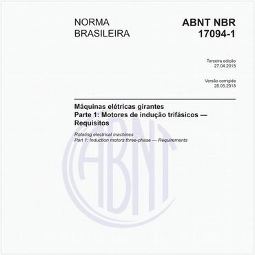 NBR17094-1 de 04/2018