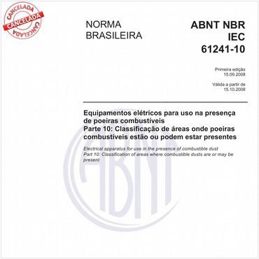 NBRIEC61241-10 de 09/2008