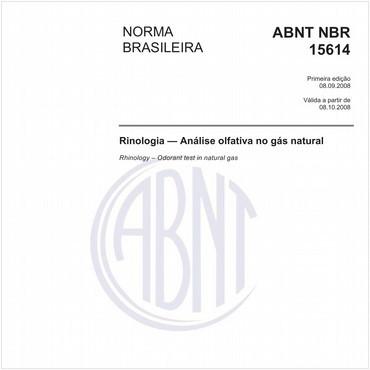 NBR15614 de 09/2008