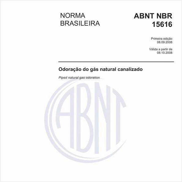 Odoração do gás natural canalizado